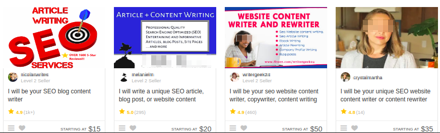 seo content stay away its just low quality content stuffed with keywords