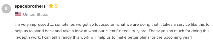 content strategy agency review