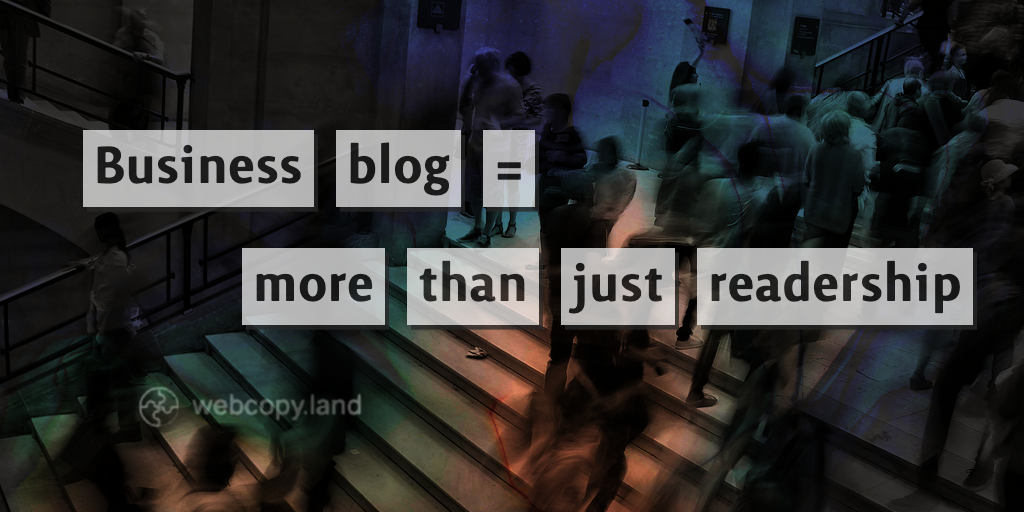 The real reasons to start a business blog this month